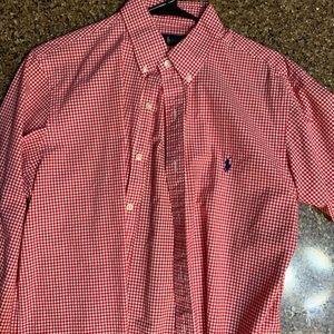 Polo Ralph Lauren red casual button shirt